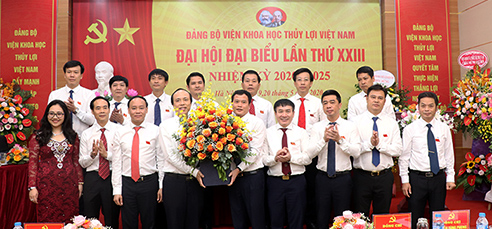 Đại hội Đại biểu Đảng bộ Viện Khoa học Thủy lợi Việt Nam lần thứ XXIII, nhiệm kỳ 2020 - 2025