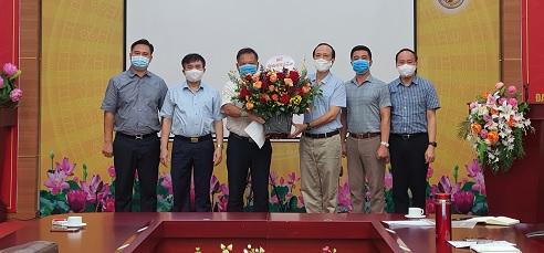 Đồng chí Nguyễn Tiếp Tân - Phó Giám đốc Viện tham gia Ban Chấp hành Đảng Bộ Viện nhiệm kỳ 2020 - 2025