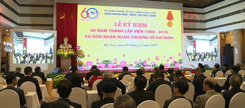 Lễ kỷ niệm 60 năm thành lập Viện Khoa học Thủy lợi Việt Nam và đón nhận huân chương Hồ Chí Minh
